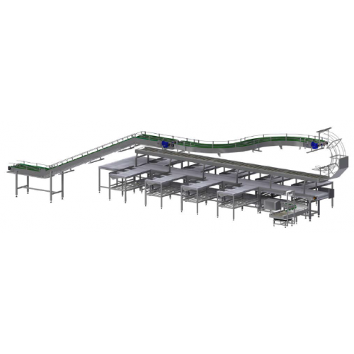 Pork and Beef Cutting Line